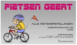 Reclamebord Geert De Potter 250