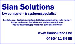 Sian Solutions logo terreinsponsoring klein 250