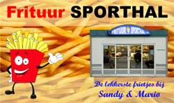 Terreinreclame Frituur Sporthal 250