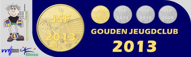 gouden jeugdclub 2013